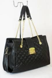 Дамска чанта черен цвят  9153655