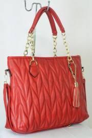 Дамска чанта червен цвят  9153656