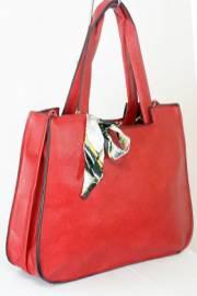 Дамска чанта червен цвят  9153659