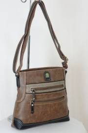 Дамска чанта кафяв цвят  9153663