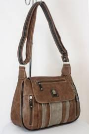 Дамска чанта кафяв цвят  9153664