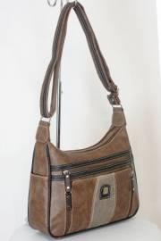 Дамска чанта кафяв цвят  9153665