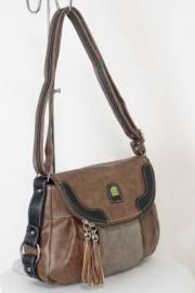 Дамска чанта кафяв цвят  9153667