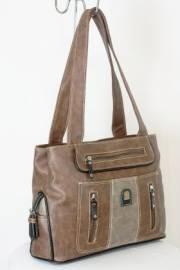 Дамска чанта кафяв цвят  9153668