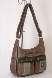 Дамска чанта кафяв цвят  9153669