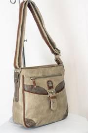 Дамска чанта бежов цвят  9153670