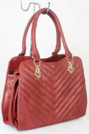 Дамска чанта червен цвят  9153674
