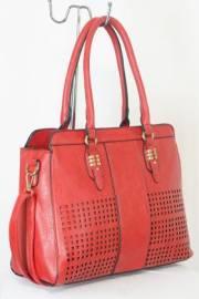 Дамска чанта червен цвят  9153682