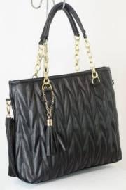 Дамска чанта черен цвят  9153683