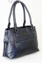 Дамска чанта тъмно син цвят  9153686