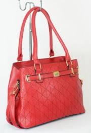 Дамска чанта червен цвят  9153699