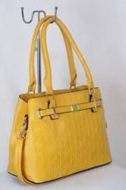 Дамска чанта цвят  горчица 9153701