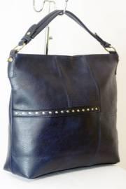 Дамска чанта тъмно син цвят  9153703