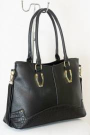 Дамска чанта черен цвят  9153708