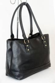 Дамска чанта черен цвят  9153721