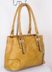 Дамска чанта цвят  горчица 9153722