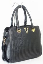 Дамска чанта черен цвят  9153723