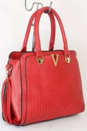 Дамска чанта червен цвят  9153724