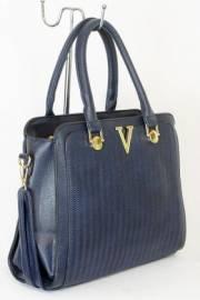 Дамска чанта тъмно син цвят  9153726