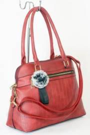 Дамска чанта червен цвят  9153730