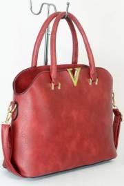 Дамска чанта червен цвят  9153732