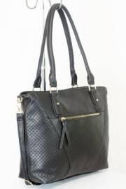 Дамска чанта черен цвят  9153733