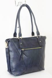 Дамска чанта тъмно син цвят  9153734
