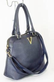 Дамска чанта тъмно син цвят  9153736