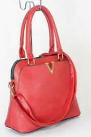 Дамска чанта червен цвят  9153737