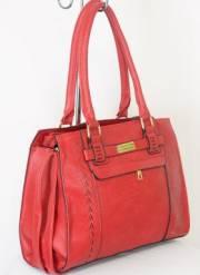 Дамска чанта червен цвят  9153738