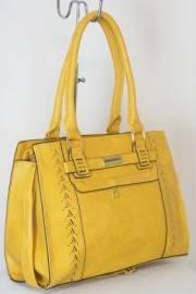 Дамска чанта цвят  горчица 9153739