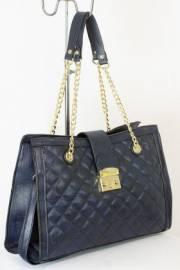 Дамска чанта тъмно син цвят  9153742