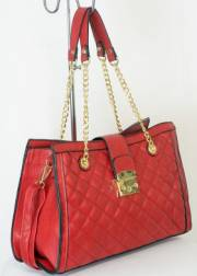 Дамска чанта червен цвят  9153743