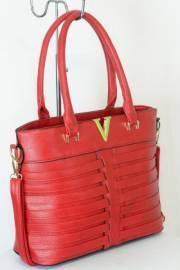 Дамска чанта червен цвят  9153744