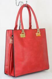 Дамска чанта червен цвят  9153748