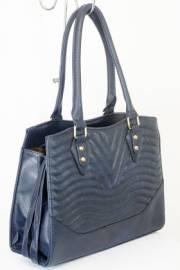 Дамска чанта тъмно син цвят  9153750