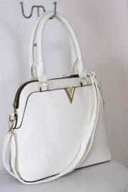 Дамска чанта бял цвят 9153751