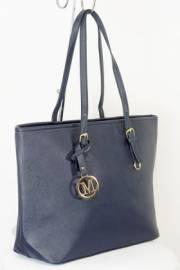 Дамска чанта тъмно син цвят  9153758