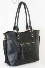 Дамска чанта черен цвят  9153763