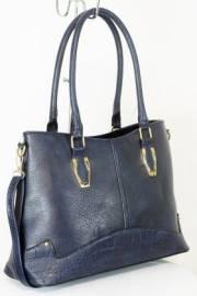 Дамска чанта тъмно син цвят  9153765