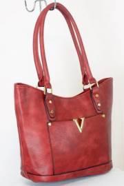Дамска чанта червен цвят  9153778