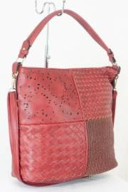 Дамска чанта червен цвят  9153781