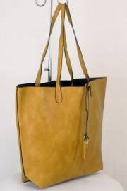 Дамска чанта светло кафяв цвят  9153785