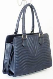 Дамска чанта тъмно син цвят  9153786