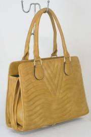 Дамска чанта светло кафяв цвят  9153787