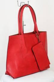 Дамска чанта червен цвят  9153792