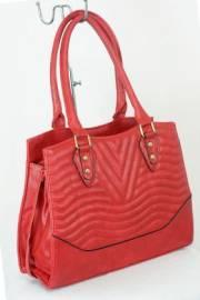 Дамска чанта червен цвят  9153796
