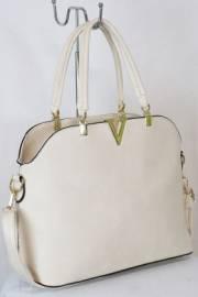 Дамска чанта в екрю 9153800