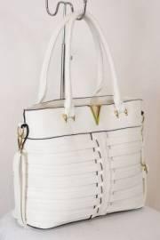 Дамска чанта бял цвят 9153811