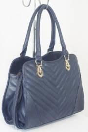Дамска чанта тъмно син цвят  9153817